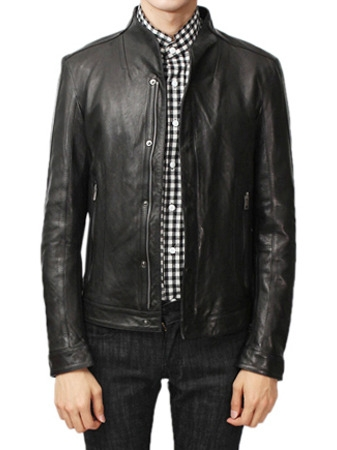 s 14ss leather jacket