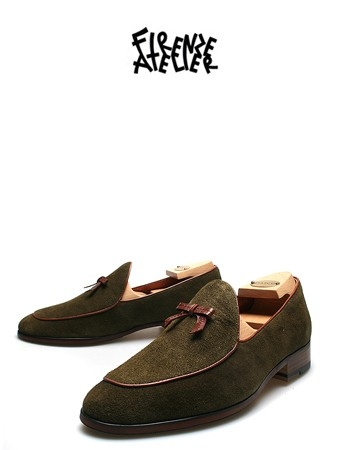 RIBBON BASIC LOAFERSUEDE