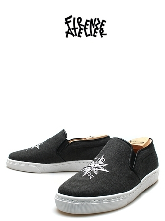 FIRENZE x DANIEL SLIP-ON 2CANVAS
