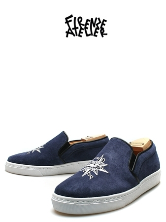 FIRENZE x DANIEL SLIP-ON 2SUEDE