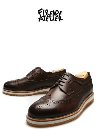 NOTE BROGUE  WING-TIP